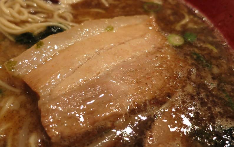Pork Close Up at Ippudo Roppongi