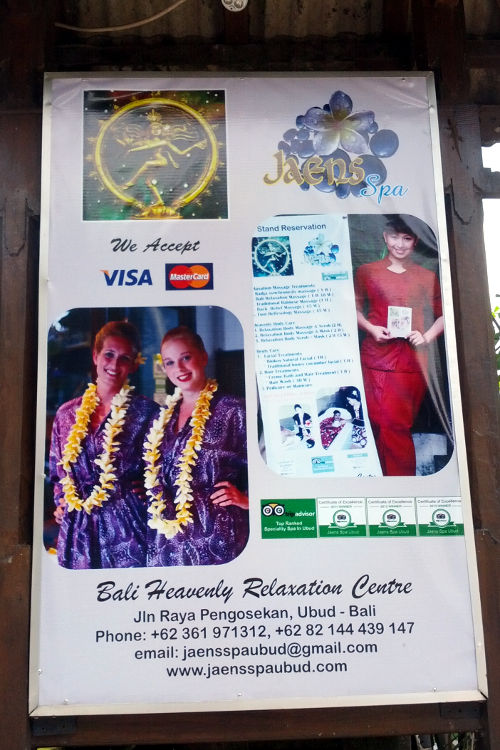 sign Jaens Spa Bali 02