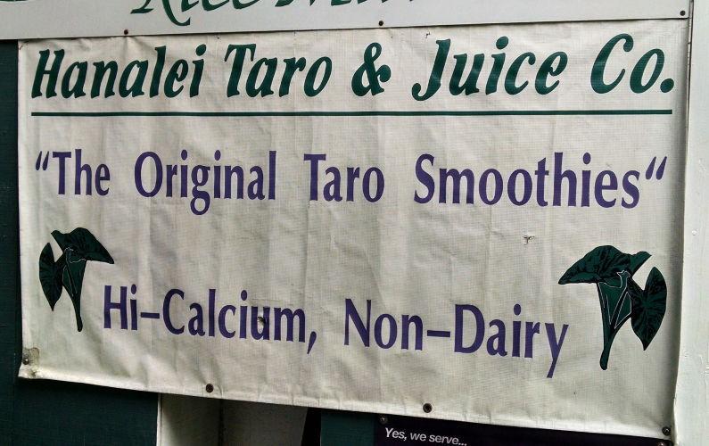 Hanalei Taro & Juice Kauai Hi (5)