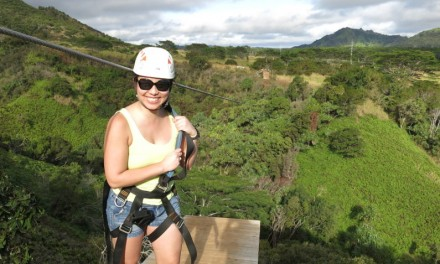 Ziplining at Skyline Eco-Adventures Poipu