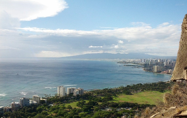Hiking the Trail to Hawaii's Volcanic Diamond Head