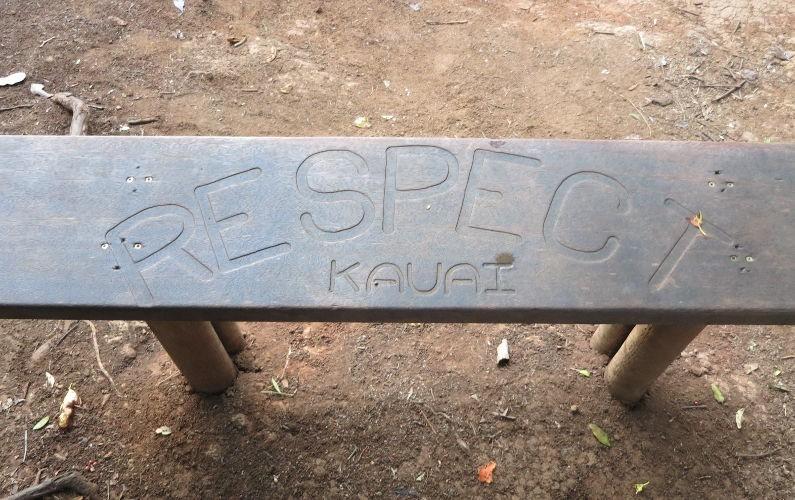 bench sleeping giant Kauai HI (17)