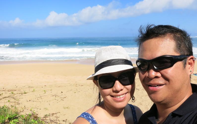 Stumbling Upon Kauai's Sandy Tunnel Beach