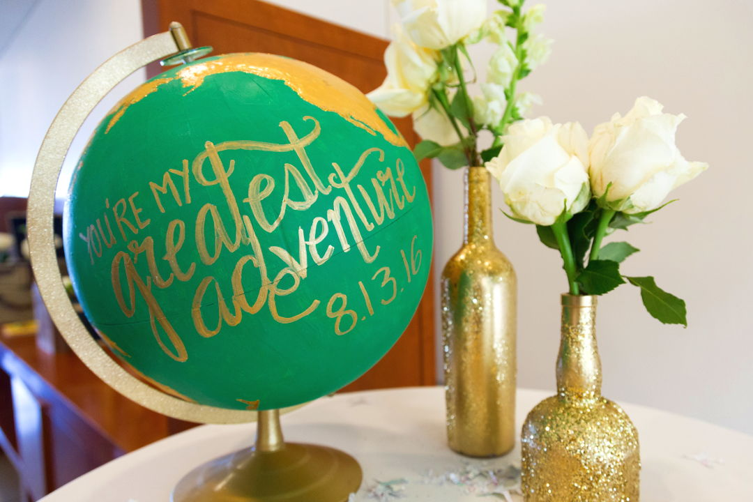 Nadia and JM DIY wedding props