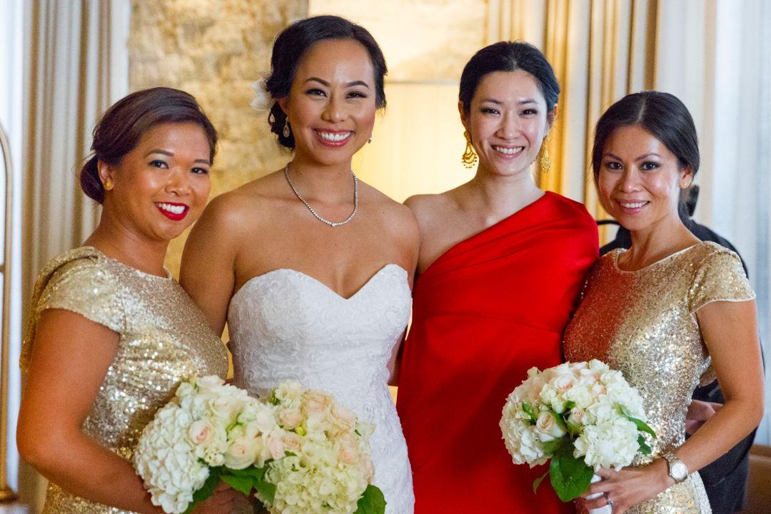 Nadia with her ladies