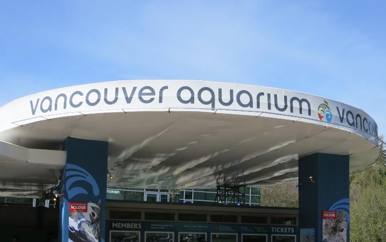 Vancouver Aquarium Exterior