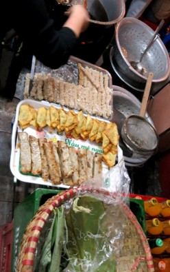 Banh Ran and Banh Goi During the Hanoi Street Food Tour