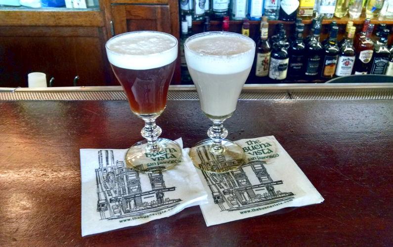 2 Irish Coffees at The Buena Vista