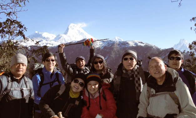 Nepal: Mr Lee's Hike Along the Roof of the World