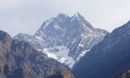 Nepal: Mr Lee at the Other Side of the Roof of the World