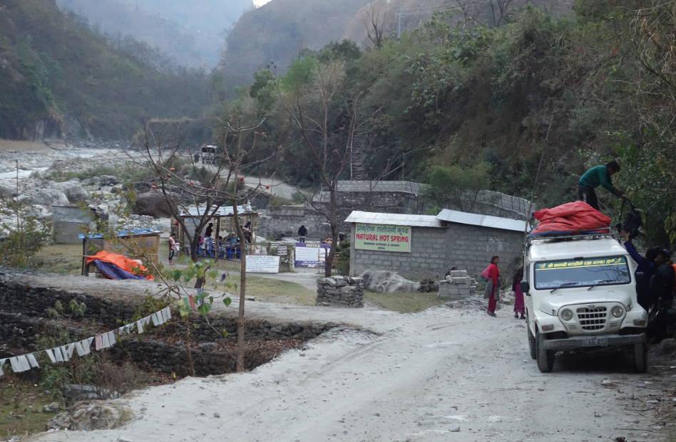 Hot Springs of Tatopani Nepal