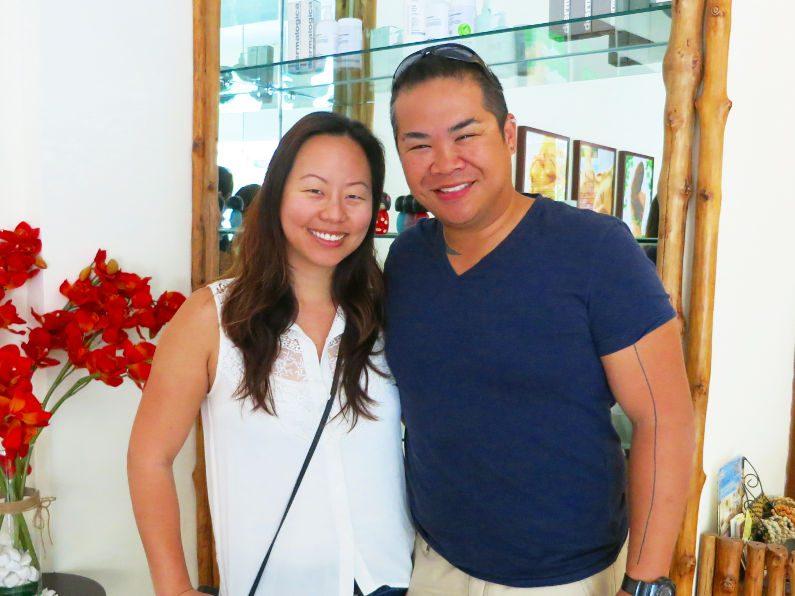 Nadia and JM at Cat Moc Spa Saigon