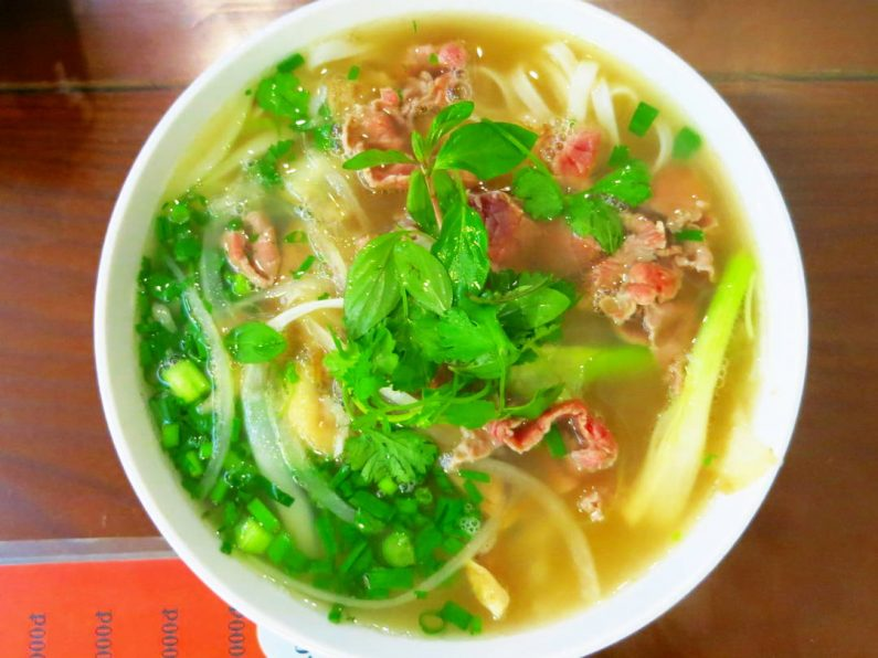 Another Bowl at Pho 10 in Hanoi