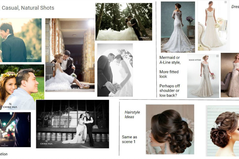 Casual/Natural Ching Hua Bridal Art Photo Shoot Ideas