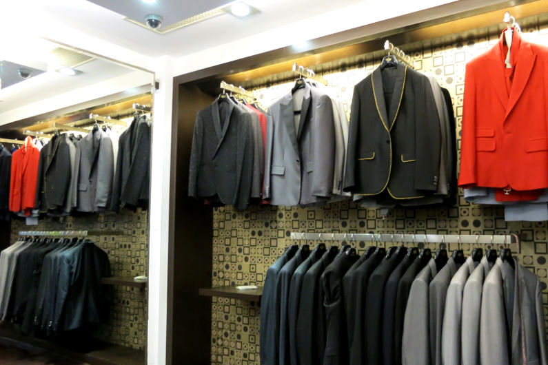 Ching Hua Bridal Art Wall Selection of Tuxedoes for JM