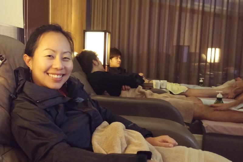 Refreshing Thousand Miles Massage Center in Taipei