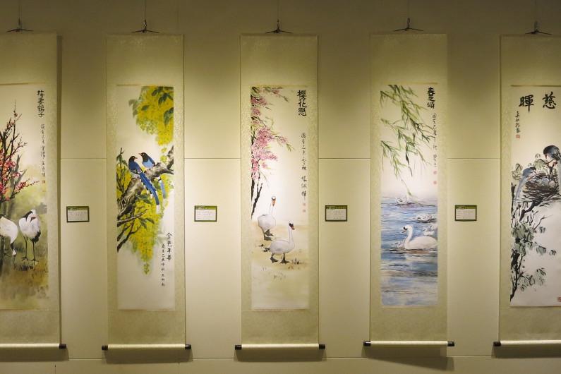 Wall Scroll Art Exhibit at National Chiang Kai-shek Memorial Hall