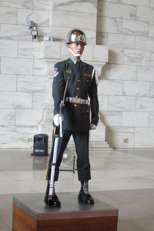 Military Guard at the National Chiang Kai-shek Memorial Hall