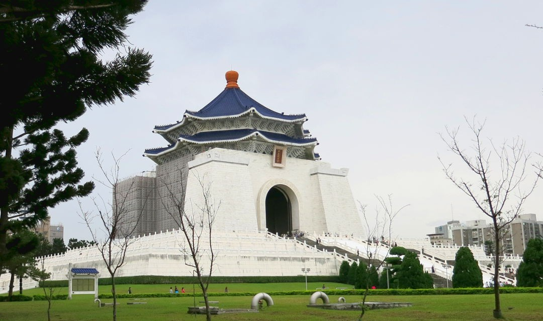 Surprised by Chiang Kai-shek Memorial Hall