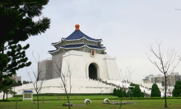 Surprised by Chiang Kai-shek Memorial Hall