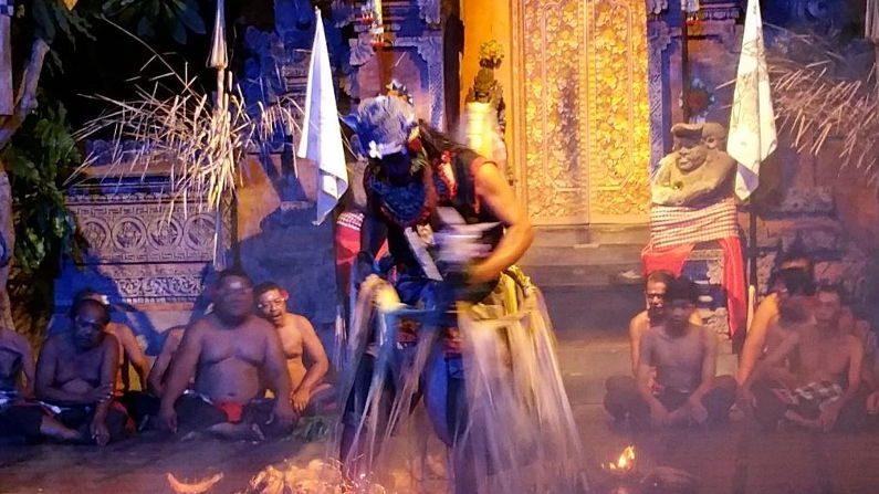 Fire Walking in Bali