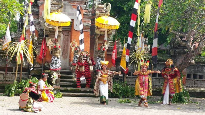 More Traditional Female Dancers in Bali