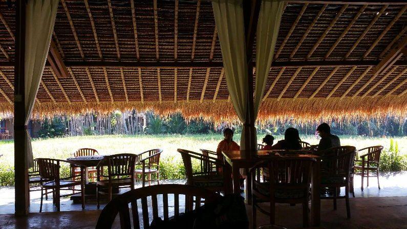 Sapu Lidi Resort Dining Area in Bali