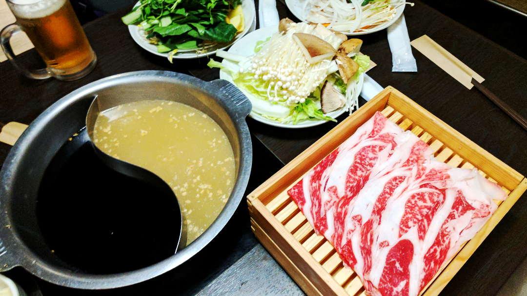 Epic All-You-Can-Eat Hot Pot Wagyu at Nabezo Tokyo