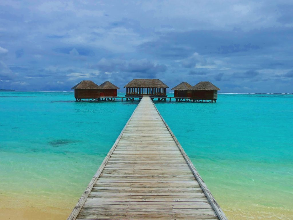 Over Water Spa Therapy Room at the Conrad Maldives
