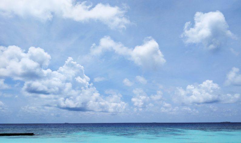Beautiful Ocean Day Beachside at the Conrad Maldives