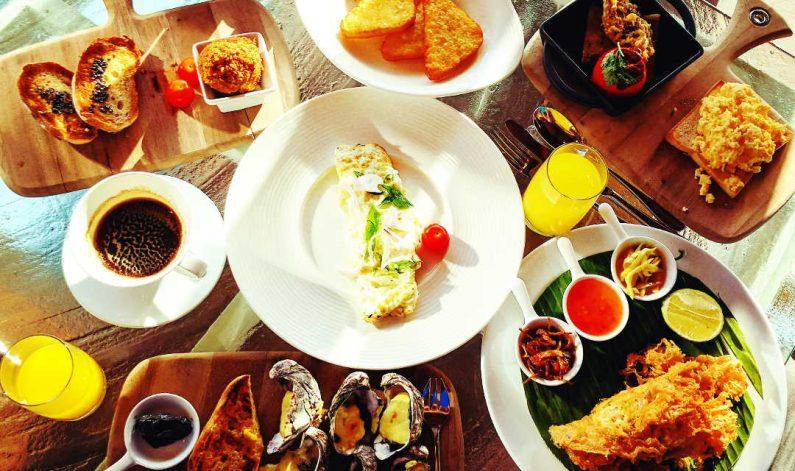 Conrad Maldives Breakfast Spread 2