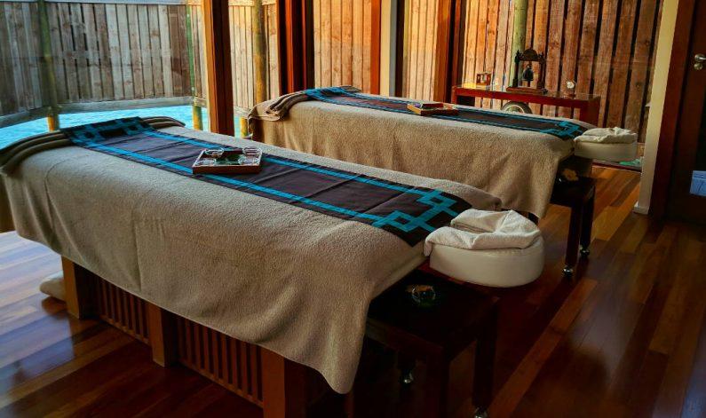 Conrad Maldives Massage Tables