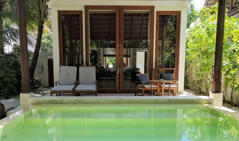 Conrad Maldives Suite Beach Entrance