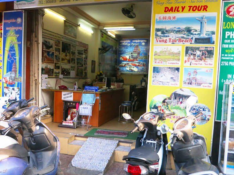 Mekong Express Saigon Office on 275F Phạm Ngũ Lão