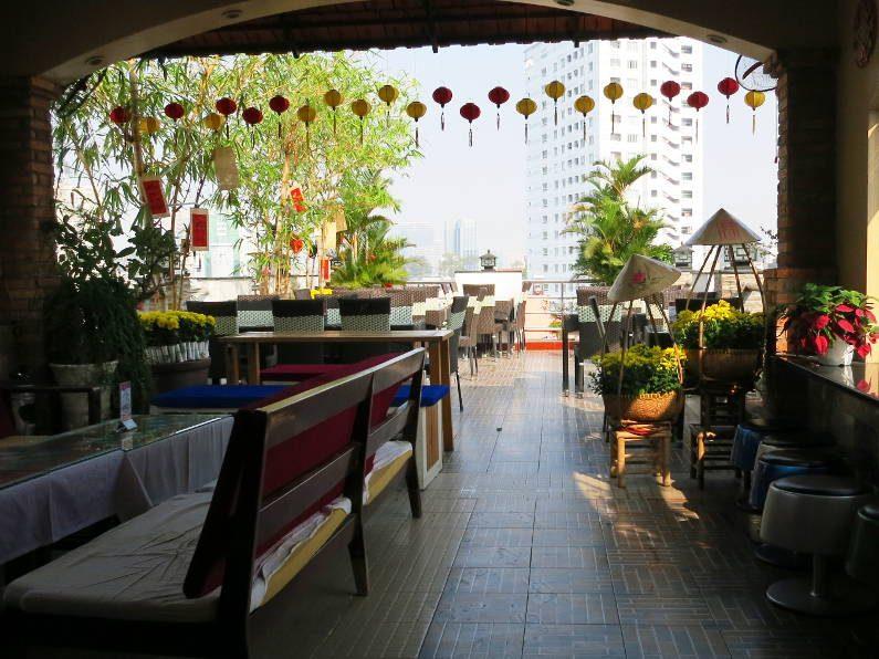 More Rooftop Bar Dining Area at the Duc Vuong Saigon
