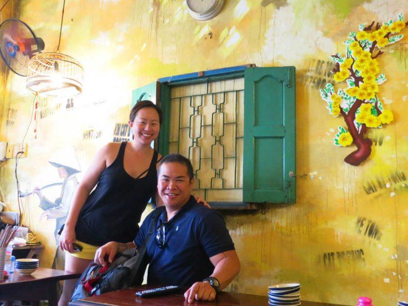 Nadia and JM at Khu Kim Liên Saigon