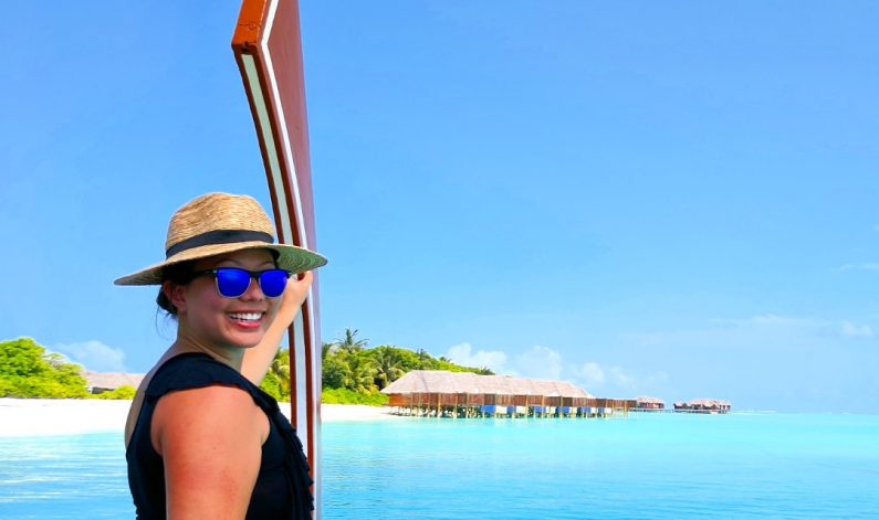 Nadia on the Conrad Maldives Ferry