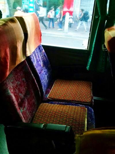 Seats on Mekong Express