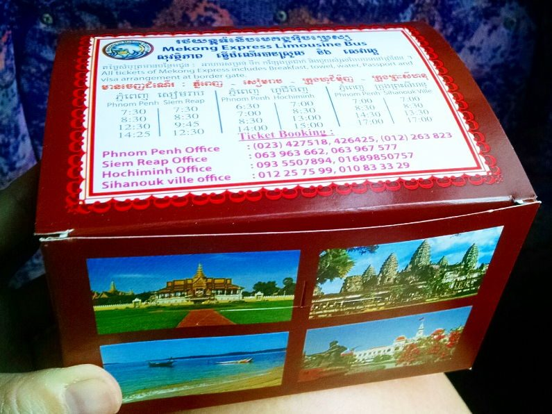 Snack Box on Mekong Express