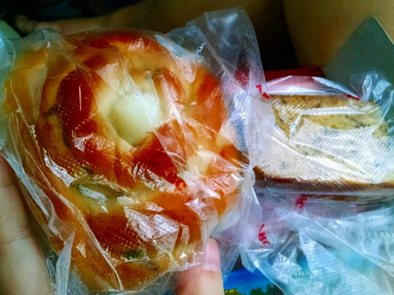 Snacks on Mekong Express