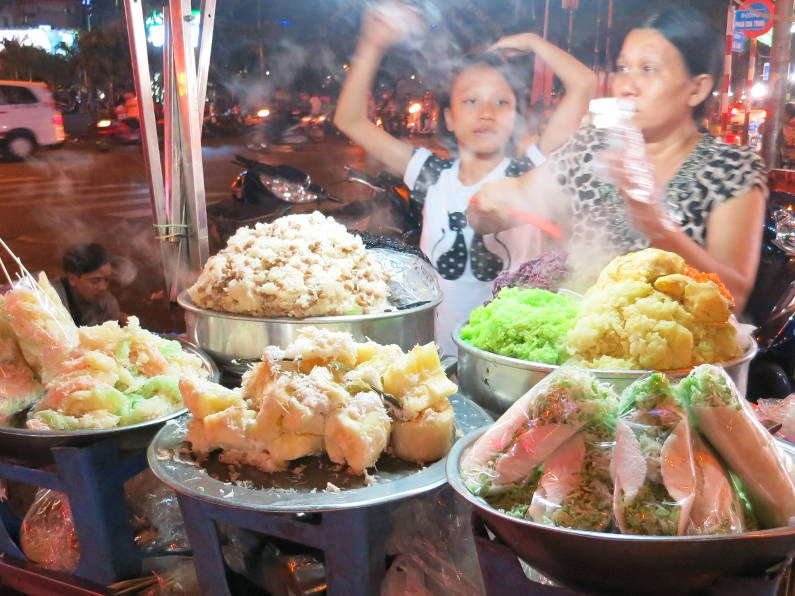 Dessert Vendors at Binh Tay Market Saigon