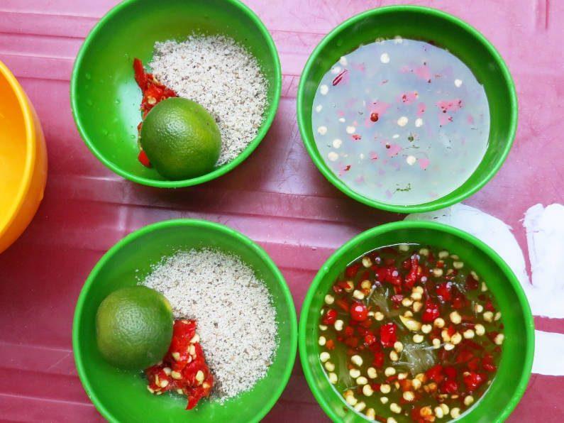 Dipping Sauce at Quan Oc Co Sang Saigon