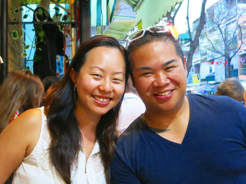 Nadia and JM During XO Tours Saigon