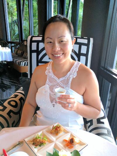 Nadia at the Intercontinental Da Nang Happy Hour