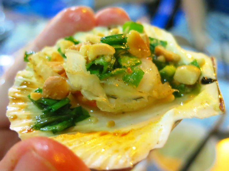Peanut Topped Clam During XO Tours Saigon