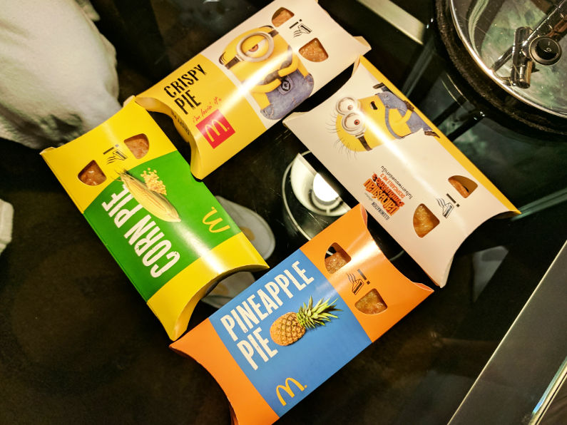 Heavenly Bangkoks McDonalds Fried Pie Heaven