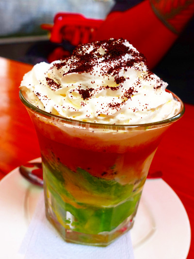 Avocado Oreo Coffee in Bandung Indonesia