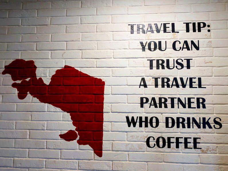 Coffee Sign in Bandung Indonesia