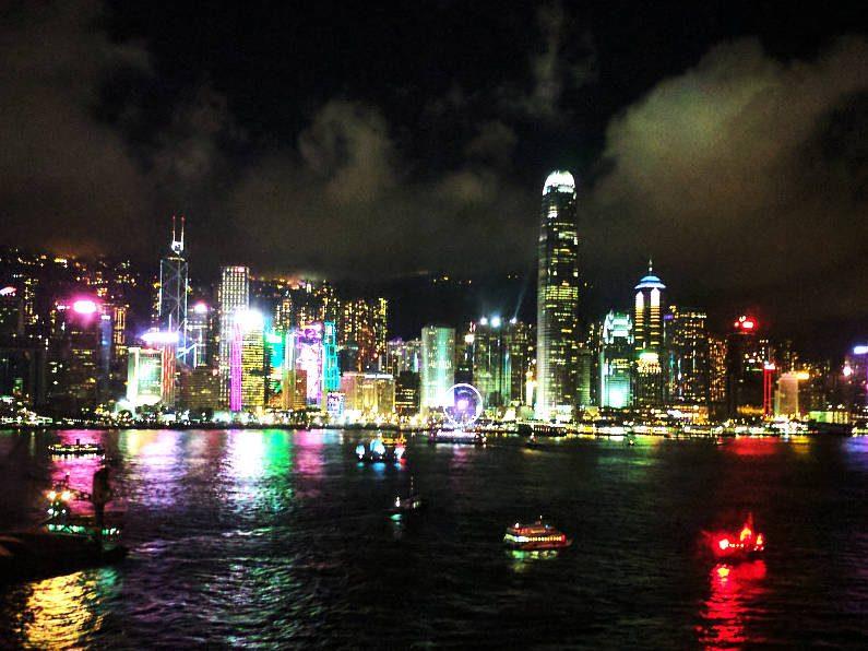 Hong Kong Night Lights
