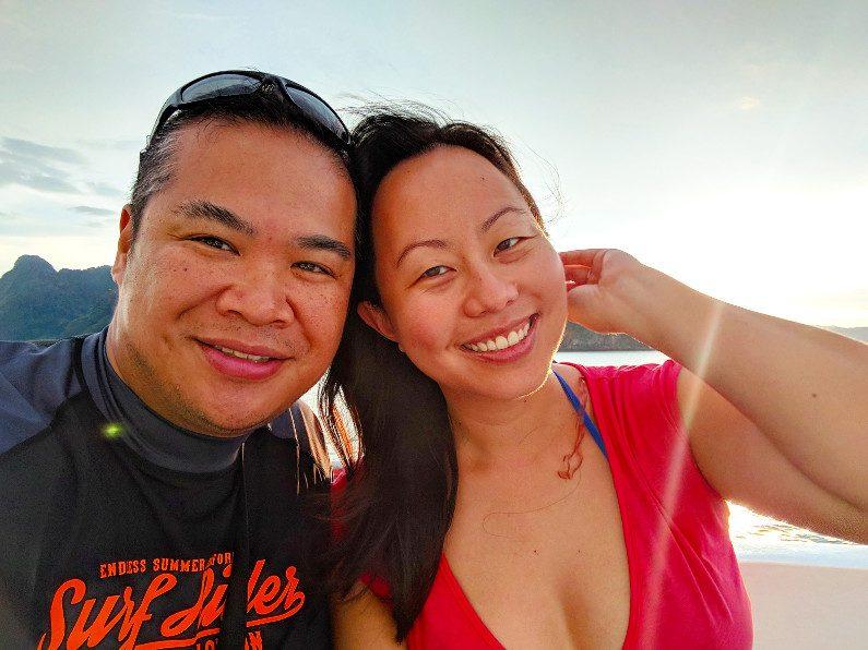Nadia and JM on a Phuket Boat Tour
